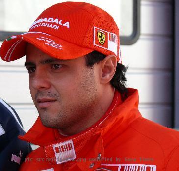 Felipe Massa at Autódromo Internacional do Algarve
