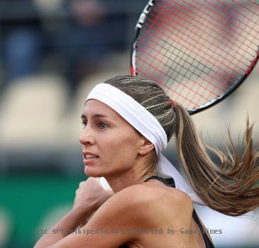 Gisela Dulko Rome 2009