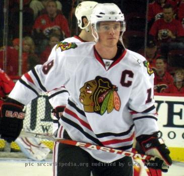 Chicago Blackhawks captain Jonathan Toews