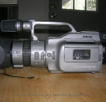 Description Sony dcr vx1000