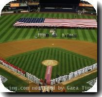 The New York Yankees and Philadelphia Phillies line first and