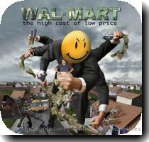 2 comments  Click the link below to get a glimpse of the WalMart virus the spread from middle American suburbs to large cities  then on to the suburbs destroying every mom and pop business in it s path