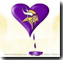 Vikings Bleeding Purple