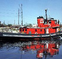 America  tug  on the Rouge River  1979  Paul C  LaMarre Jr