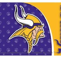 Minnesota Vikings Pet Mat