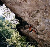 Pierre Bollinger 8a  Zillertal  Suisse photo  Mathieu Provost